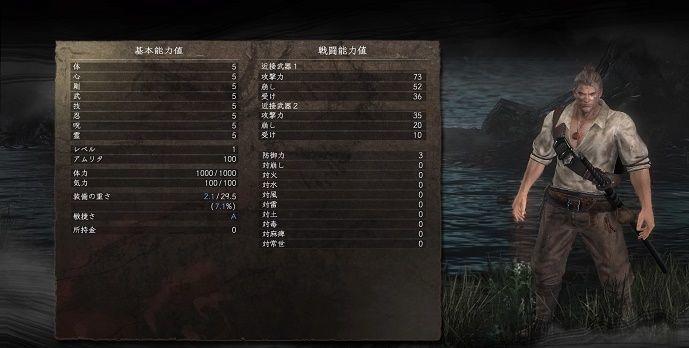 武 仁王2 攻撃反映